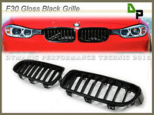 Gloss Black Front Grille For BMW F30 F31 3-Series Sedan/Wagon 2012-2017