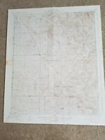 Large 22x29 Vintage 1936 USGS Topo Map White River, California Fountain Springs