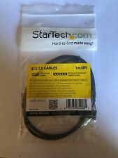 StarTech 3 ft Panel Mount USB Cable - USB A to Motherboard Header Cable F/F USBP