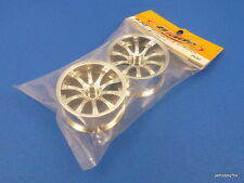 (Blade BL245) 26mm Euro-10 Drift Wheel 7mm offset Chrome Tamiya Yokomo HPI