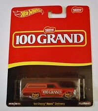 Chocolate Lovers Hot Wheels Pop Culture Nestle 100 Grand 64 Chevy Nova Delivery