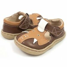 New LIVIE & LUCA Shoes Elephant Brown toddler 4 HTF