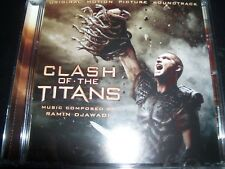 Clash Of The Titans Original Movie Soundtrack CD By Ramin Djawadi - Like New