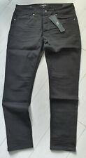 Tigha Herren Slim fit Jeans Morty 7124 rinse wash vintage black Size 36/32