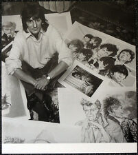 THE ROLLING STONES POSTER PAGE RON WOOD . Y83