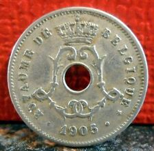 Very Nice 1905 A. Michaux Variety 5 Centimes from Belgium KM# 54