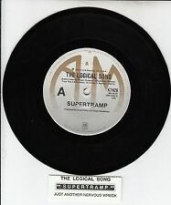 "SUPERTRAMP Logical Song Just Another Nervous Wreck 7"" NEW 45 record + juke strip"