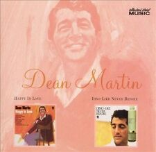 Happy in Love/Dino - Like Never Before by Dean Martin (CD, Nov-2005,...