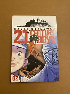 21st Century Boys Volume 2 by Naoki Urasawa OOP Manga
