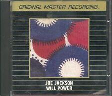 Jackson, Joe Will Power MFSL Gold CD UI Japan Erstpressung UDCD 503 OOP