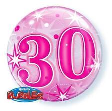 Ballons de fête roses rondes pour la maison