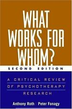 What Works for Whom?: A Critical Review of Treatments for Children and
