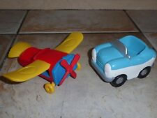 Disney Mickey Mouse Clubhouse Mickey's Aeroplane & Donald Ducks Car Toys