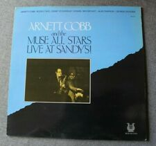 Arnett Cobb and the Muse all stars, live at Sandy's, LP - 33 tours