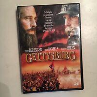 GETTYSBURG RARO DVD vendita ITALIA - TOM BERENGER JEFF DANIELS MARTIN SHEEN