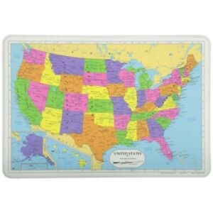 Painless Learning Placemat: United States