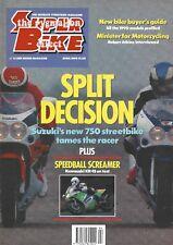 Kawasaki KR-1S Suzuki GSX-R750L Yamaha FZ750 Davidson Electra Glide Classic KR1
