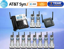 AT&T SynJ® SB67138 DECT 6.0 4-LINE - 10 CORDLESS PHONES + REPEATER