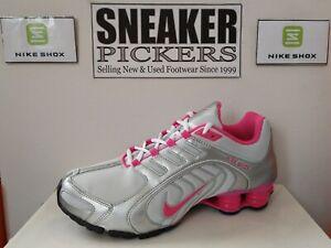 Nike Womens Shox Navina - 356918 068 - Metallic Silver / Vivid Pink - Size: 10