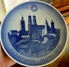 Royal Copenhagen Olympics Munich 1972 Plate 8.1''