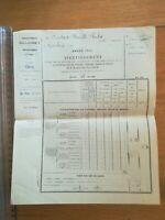 4 Mai 1913 Chécy Loiret Avertissement Acquit contribution voiture chevaux mules