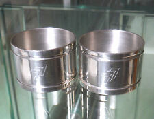 Stainless Steel Collectable Napkin Rings