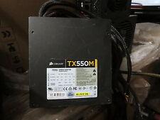 CORSAIR Enthusiast Series TX550M 550W ATX12V v2.31 / EPS12V v2.92 80 PLUS BZ
