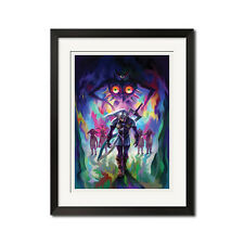 The Legend of Zelda Majora's Mask Poster Print 0663