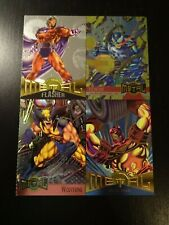 Marvel Metal 1995 PROMO card 1995