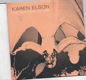 Karen Elson-The Truth Is In The Dirt promo cd single
