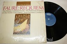 """Faure: Requiem The Philippe  Caillard Chorale ? The National OrchestrLP 12"""" (VG)"""