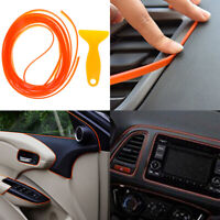 5M Orange car styling interior molding trim decorate strip line gap filler kitLD