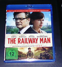 The Railway Man con Nicole Kidman BLU-RAY Más Rápido Envío NUEVO Y EMB. orig.