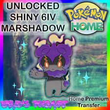 Pokemon HOME Premium Transfer // ✨ULTRA SHINY✨ UNLOCKED Mythical 6IV MARSHADOW