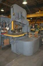 Vertical Band Saw Friction Doall