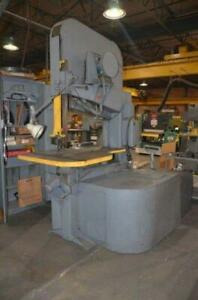 Vertical Band Saw (friction) Doall
