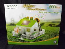 NEW Open Box RARE Oregon Scientific Solar Powerhouse Building Kit - FANTASTIC