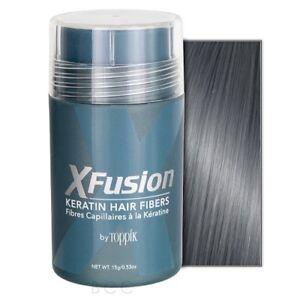 X-Fusion Keratin Hair Fibers Gray 0.53oz
