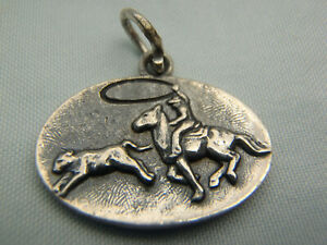 James Avery Cowboy Rodeo Calf Roping Charm XXRARE RETIRED