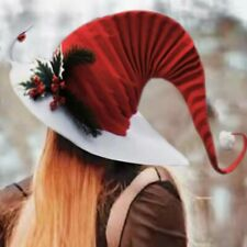 Christmas Santa Claus Elfs Caps Decoration Family Party Plush Hats Gift Adults
