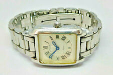 Ladies Raymond Weil Saxo Stainless Steel Date Watch Blue Hands 9910 Certificate