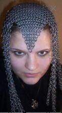 Chainmail Headdress Chainmaille Chain Mail Maille Head Dress Costume