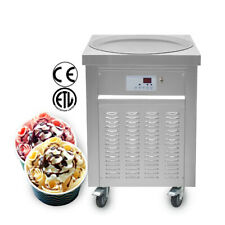 More details for kolice commercial fried ice cream machine, frozen yogur ice cream roll machine