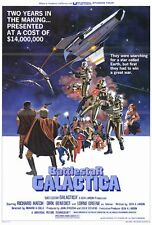 """BATTLESTAR GALACTICA Movie Poster [Licensed-NEW-USA] 27x40"""" Theater Size (1978)"""