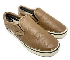 CROCS HOVER LEATHER LOAFER SLIP ON Men's 11 NEW