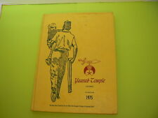 1975 Shriners Yaarab Temple AAONMS Atlanta GA Yearbook Book