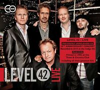 LEVEL 42 - LIVE AT LONDON'S TOWN & COUNTRY CLUB 2 CD NEU