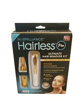 ~As Seen On TV~ New Hairless Pro Ultimate Hair Remover Kit~ 5 attachments ~