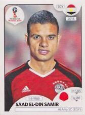 Panini Sticker Fußball WM 2018 Russia Nr. 82 Saad El-Din Samir EGY Bild NEU 082