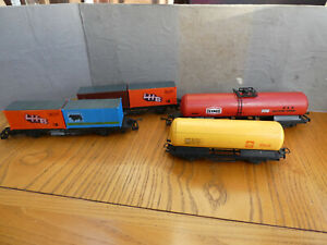 OO Gauge Lima Tankers & container Wagons x4